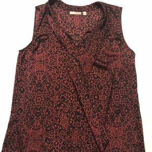 NWT halogen tank top blouse medium